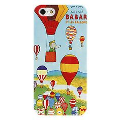 Elephant Pattern Hard Case para iPhone 5 – BRL R$ 7,31