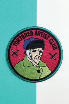 Join the club. Patch is 3 inches with an iron-on backing.