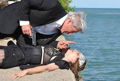 """""""the double"""" stana katic and richard gere"""