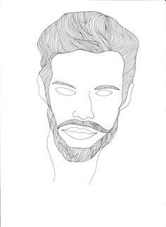 sketch men