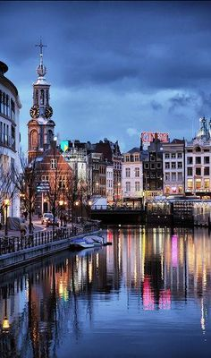 Beautiful evening in Amsterdam!