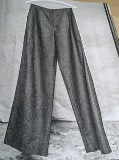 Strides wide leg pants or shorts with front fly zip and slant pockets. In Workbook for developing skills by making 6 patterns. Patterns full size but have to be traced. Individual patterns include other skills. Merchant And Mills, Wide Leg Pants, Pockets, Patterns, Shorts, Sewing, Chic, Fashion, Fashion Styles