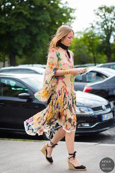 Jennifer Neyt Street Style Street Fashion Streetsnaps by STYLEDUMONDE Street Style Fashion Photography