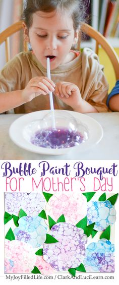 Bubble Paint Bouquet