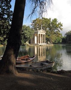 Villa Borghese, Rome, Italy — by Alexa. It's worth your time in Rome to take a walk around the gardens at Villa Borghese. There's a duck pond, dog park, and...