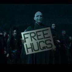 free hugs!! #voldemort #Harry #potter