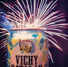 Vichy Catalán de verbena (imagen de Sandra Ley, una de las ganadora del concurso #vichysanjuan)