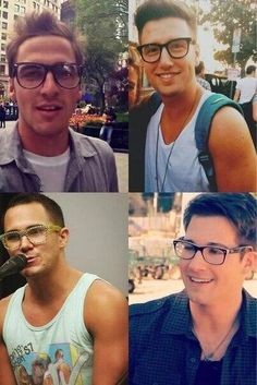 The boys with glasses<3 look amazing either way!