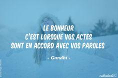 Être honnête, c'est bon pour la santé... Et pour le moral ! Voilà ce qu'en dit Gandhi qui nous éclaire de sa sagesse.