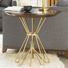 Stanley Crestaire Milo End Table