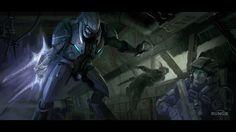 Halo Wars Conceptual Art | Halo: Reach Concept Art