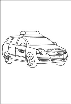 polizeiauto mit blaulicht ausmalbild 78 malvorlage polizei ausmalbilder kostenlos, polizeiauto