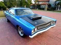 1969 Plymouth HEMI Road Runner. Awesome American Muscle!