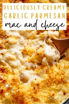 Deliciously Creamy Garlic Parmesan Mac and Cheese—an indulgent and tasty dinner recipe. This is better than your average boxed mac and cheese. You are going to love how creamy and packed with flavor this homemade mac and cheese recipe is. Garlic Mac And Cheese Recipe, Cheesy Mac And Cheese, Boxed Mac And Cheese, Macaroni Cheese Recipes, Mac And Cheese Homemade, Pasta Recipes, Delicious Dinner Recipes, Great Recipes, Best Comfort Food