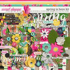 Spring Is Here Kit by Amanda Yi, Studio Basic Designs & Two Tiny Turtles