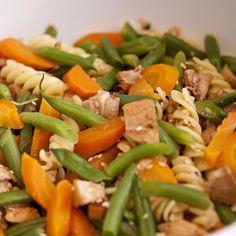 verduras e massa