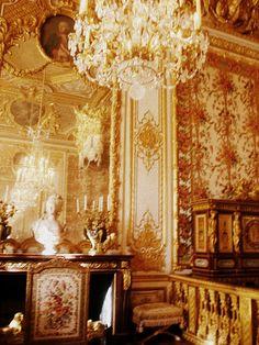 Marie Antoinette's bedroom #MarieAntoinette