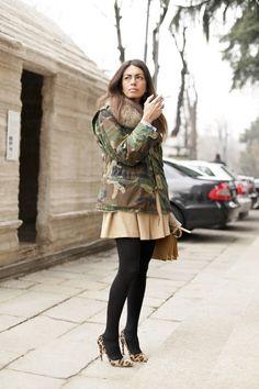 Viviana Volpicella. Viviana Volpicella street style