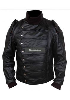 Bucky Barnes The Winter Soldier Costume Jacket