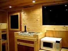 7 x 14 V-Nose Enclosed Trailer / Camper Conversion Pt 1 Insulation - YouTube