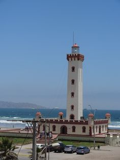 La Serena, Región de  Coquimbo. Lighthouses, Shanghai, South America, Cities, Spanish, Beautiful Places, Places To Visit, World, Building