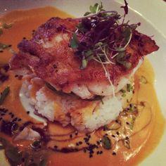 #soy #goldeneye #tilefish #sushi #rice #wakame #coconut #curry @Peter Coote Beach #restaurant #montauk #2014