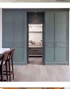62 Ideas hidden door interior secret storage for 2019 House Doors, Room Doors, Garage Doors, Entrance Design, Door Design, House Design, Hidden Kitchen, Secret Storage, Hidden Rooms