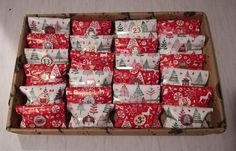 Advent Calendar, Holiday Decor, Home Decor, Decoration Home, Room Decor, Advent Calenders, Home Interior Design, Home Decoration, Interior Design