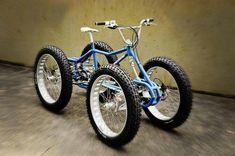 Rat Rod quad Bike