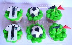 colo colo fútbol cupcakes