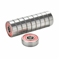 10Pcs Red Bearings For ABEC 9 Stainless Steel High Performance Roller Skate Scooter Skateboard Wheel Bearings