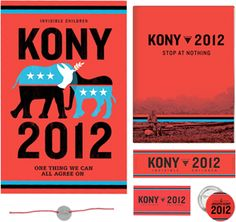 JOSEPH KONY IS ONE OF THE WORLD'S WORST WAR CRIMINALS AND I SUPPORT THE INTERNATIONAL EFFORT TO ARREST HIM, DISARM THE LRA AND BRING THE CHILD SOLDIERS HOME. Read more at http://kony2012.s3-website-us-east-1.amazonaws.com/