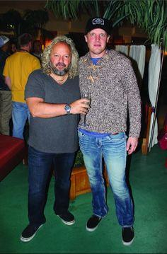 Tal Bergman and Joe Bonamassa on the Keeping the Blues Alive at Sea cruise