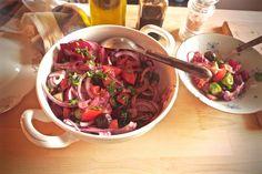 Beetroot&Eggplant Salad
