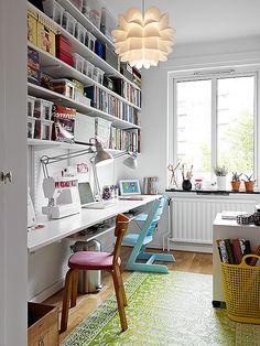 Skrivbord. #arbetsplats
