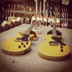 1960 LP Special and 1957 LP Junior in TV Yellow