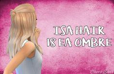 Choco Sims: Isa hair • Sims 4 Downloads
