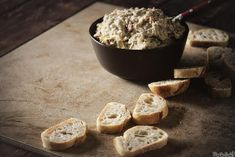 Slow Cooker Lemon Artichoke Dip | Make this for your next party!