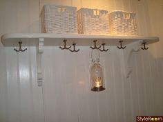 Small Entry, Wall Lights, Ceiling Lights, Swedish House, Mason Jar Lamp, Country Style, Entrance, Sconces, Table Lamp