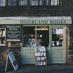 ebookfriendly:  Moorland Books #bookshop in... - drink words