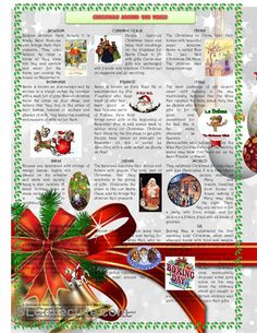 Christmas around the world worksheet - Free ESL printable worksheets made by teachers