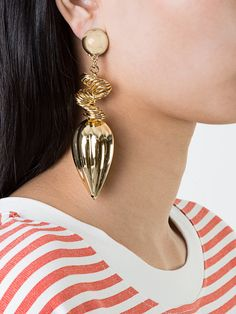 Saf Safu hanging single earring - AVAILABLE HERE: http://rstyle.me/~9XmVn