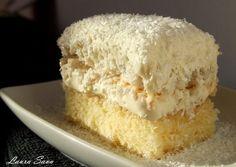 Items similar to Raffaello Cake PDF Recipe on Etsy My Recipes, Cake Recipes, Dessert Recipes, Favorite Recipes, Romanian Desserts, Romanian Food, Just Desserts, Delicious Desserts, Yummy Food