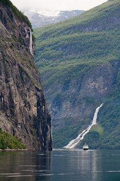 Потрясающие фьорды Норвегии