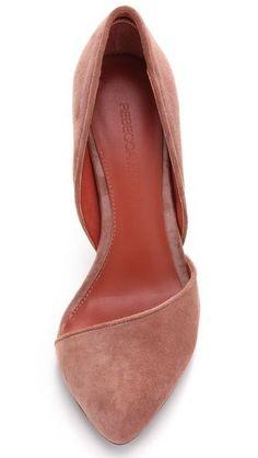 Rebecca Minkoff Selina d'Orsay Pumps zapatillas Crazy Shoes, Me Too Shoes, Cute Shoes Flats, Moda Outfits, Flipflops, Look Formal, Mode Shoes, Shoe Closet, Beautiful Shoes