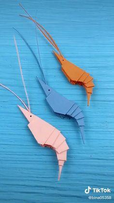 Paper Crafts Origami, Paper Crafts For Kids, Diy Arts And Crafts, Diy Paper, Instruções Origami, Origami Design, Kids Origami, Diy Crafts Hacks, Origami Tutorial