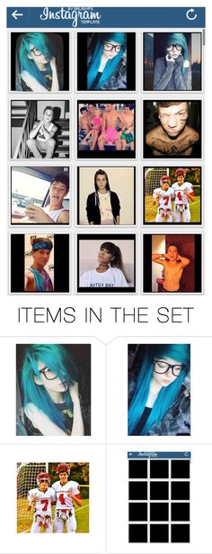 """""""Tessa's Instagram"""" by nerdy-emo-girl ❤ liked on Polyvore featuring art"""