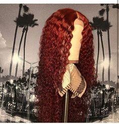 Hair Bundles With 360 Closure Human Hair Hair Bundle With Closure With Blonde Curly Wigs, Human Hair Wigs, Red Curly Wig, Lace Front Wigs, Lace Wigs, Curly Hair Styles, Natural Hair Styles, Colored Wigs, Colored Hair