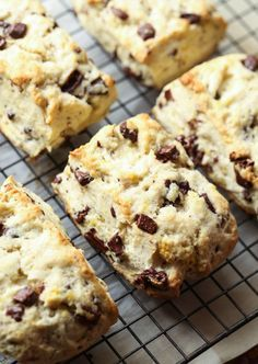 Chocolate Chunk Orange Scones