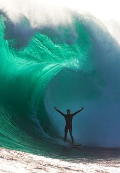 ~ Teal surfer ~